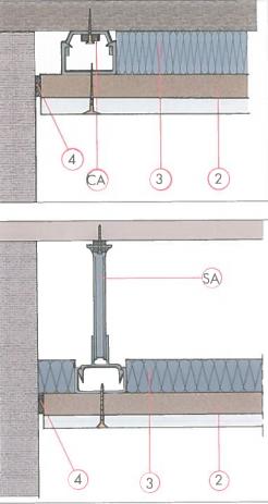 isolation acoustique plafond. Black Bedroom Furniture Sets. Home Design Ideas
