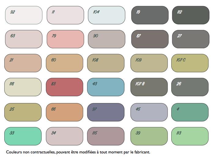 EasyClay nuancier couleur Argile