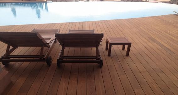terrasse en bambou thermo traité